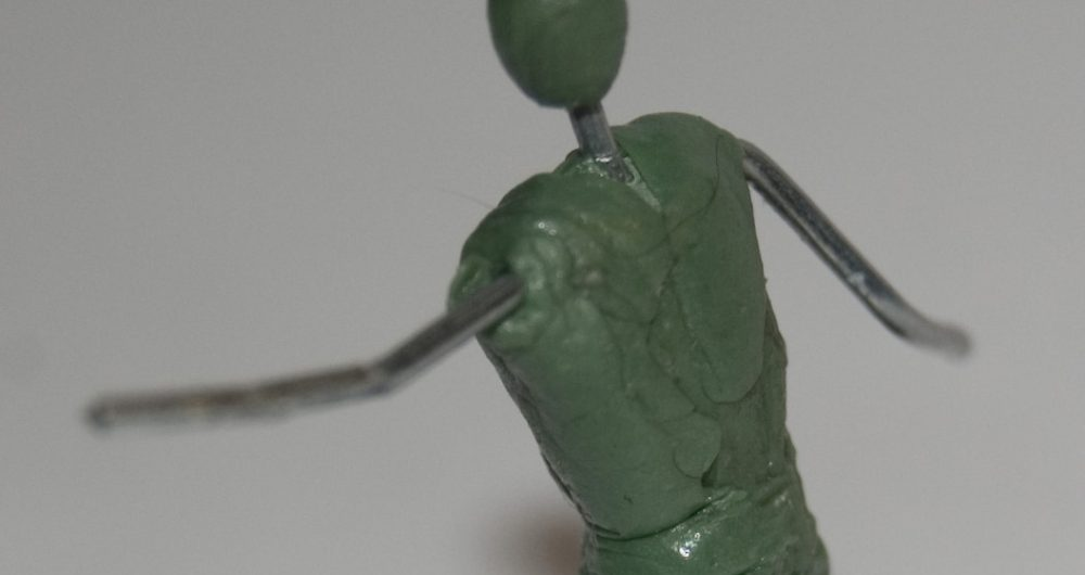 Green Stuff tutorial - Armature