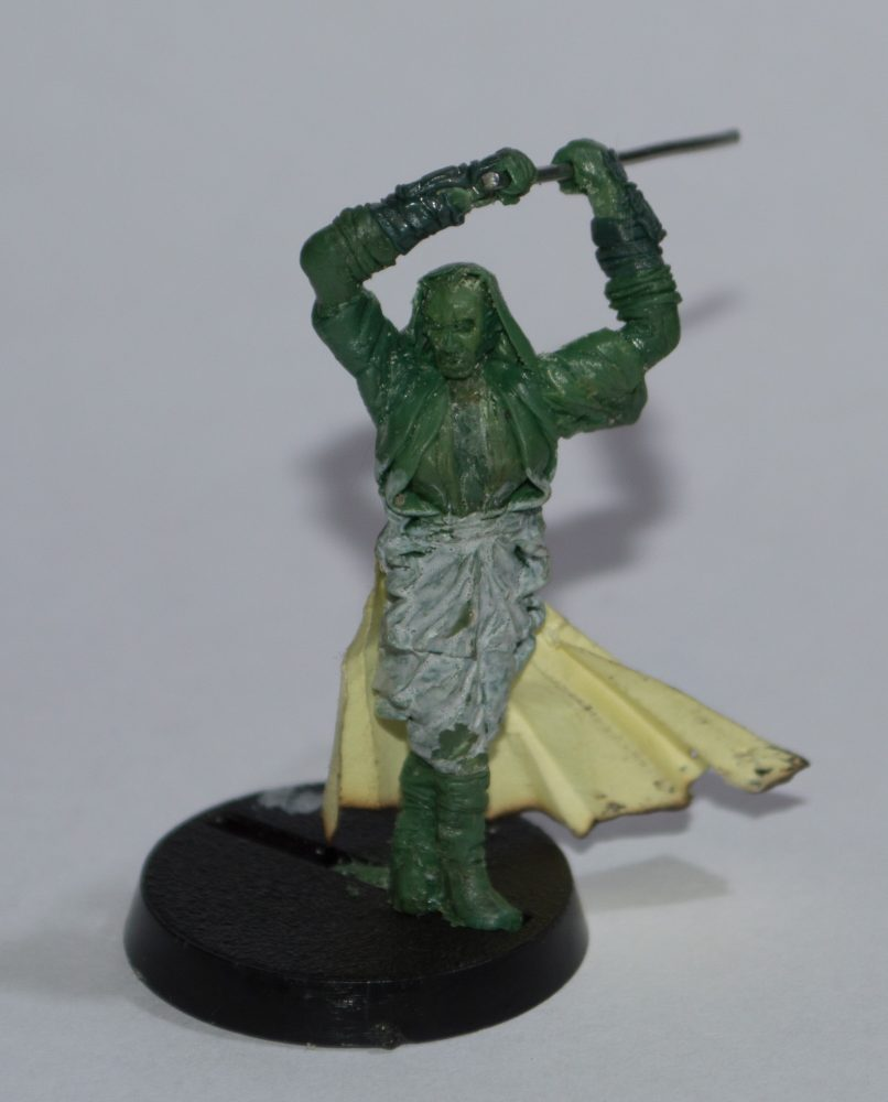 green stuff sith lord star wars miniature